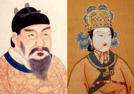 Tang Kao Tsung dan Wu Zetian