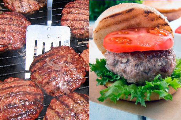 идеальный бургер барбекю