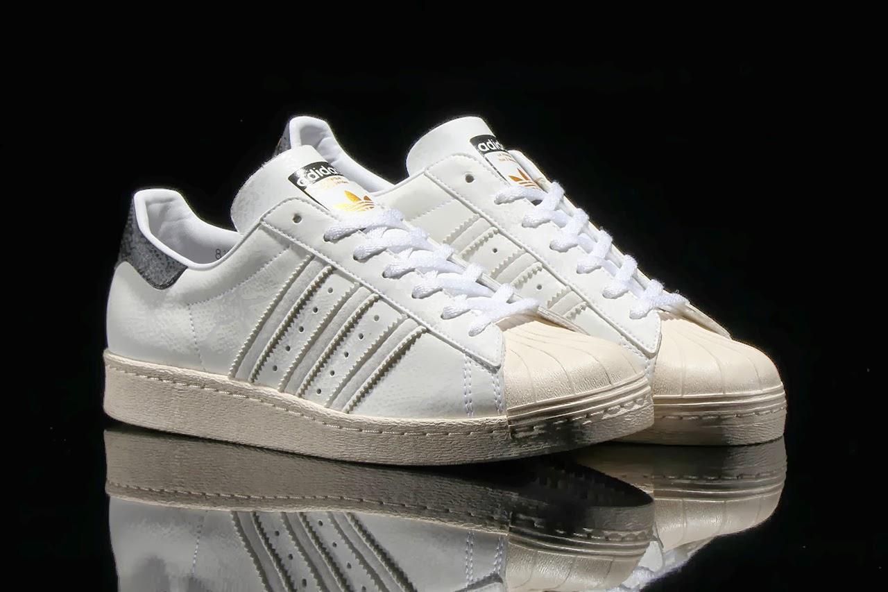 Adidas - Superstar 80s Premium - Sneaker mit Schlangenmuster