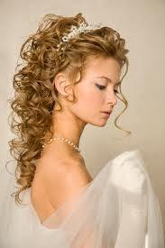 Peinados de novias cabello largo