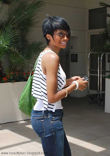 Short trendy hairstyles for black women 2013