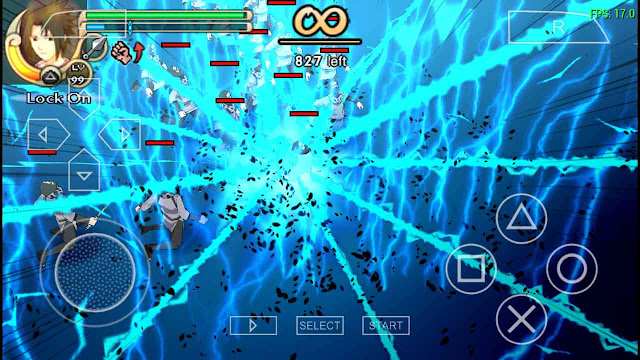 Cara Setting Naruto Ultimate Ninja Impact