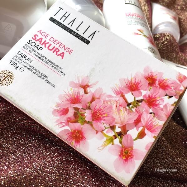 Thalia Sakura Özlü Yaşlanma Karşıtı Sabun