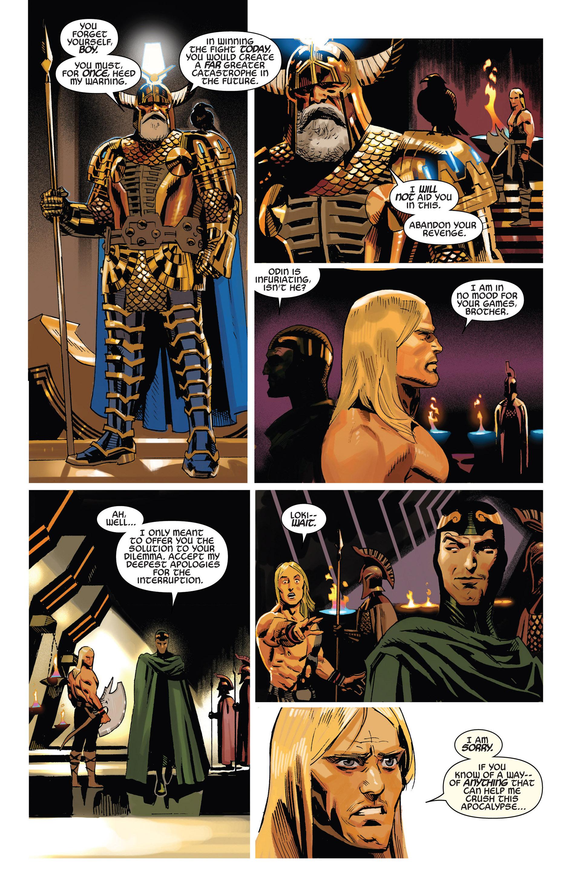 Read online Uncanny Avengers (2012) comic -  Issue #6 - 10