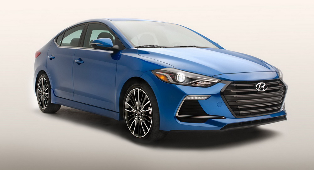 all new turbocharged 2017 hyundai elantra sport for the usa. Black Bedroom Furniture Sets. Home Design Ideas