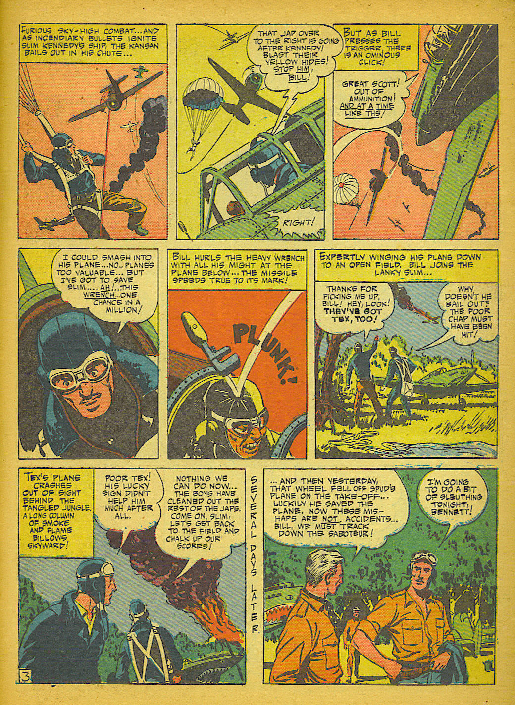 Read online Action Comics (1938) comic -  Issue #51 - 52