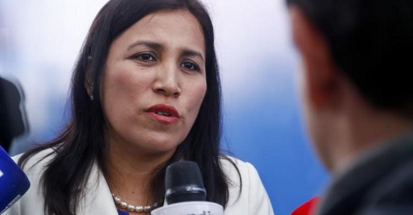 MINEDU: Ministra de Educación espera actitud de diálogo y no de confrontación de congresista fujimorista Tamar Arimborgo - www.minedu.gob.pe