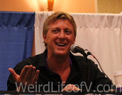 William Zabka at the Karate Kid panel during SuperToyCon 2016