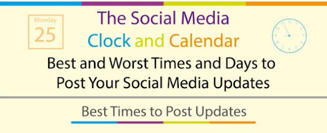 Posting Times & Days On Social Media [Infographic]