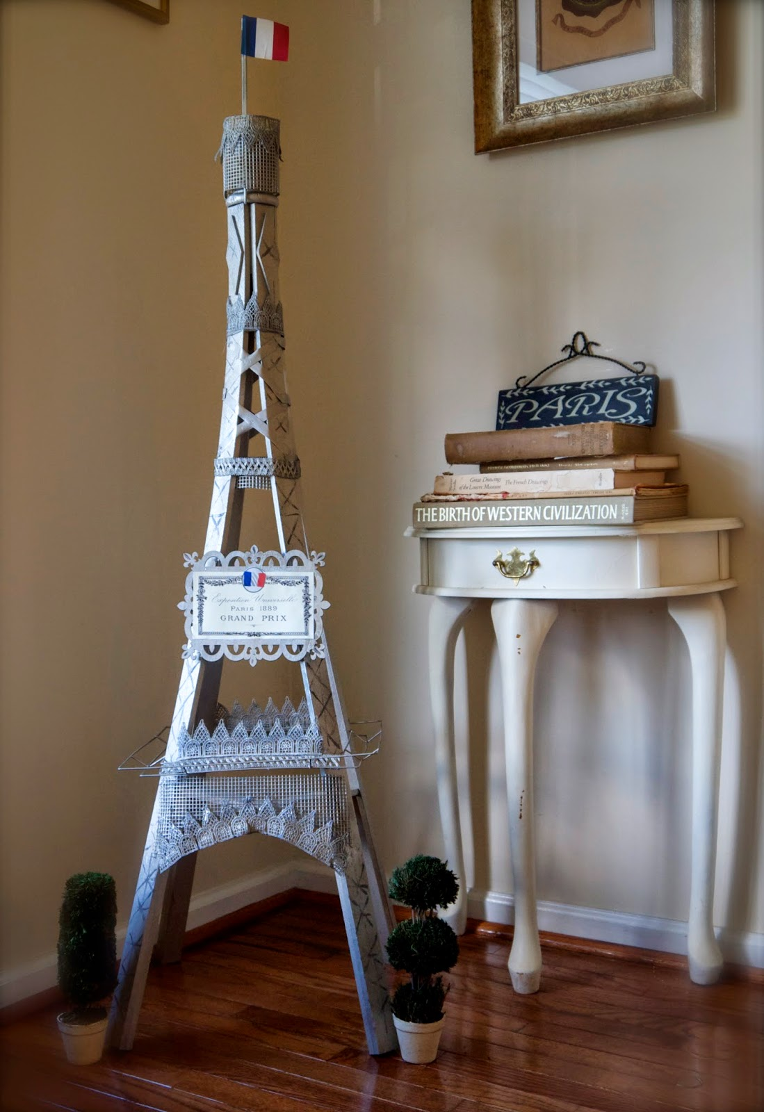 Pennywise Springtime In Paris Diy Eiffel Tower From