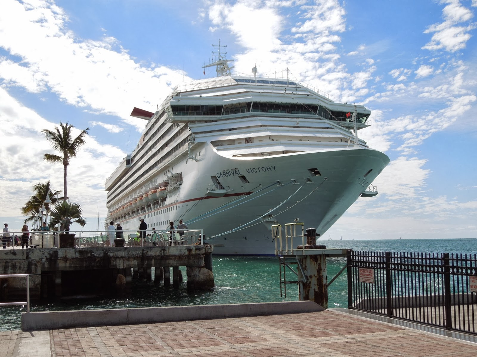 Carnival Victory in Key West