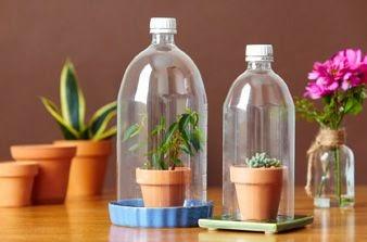 Kerajinan Tangan dari Barang Bekas, Aneka Kreasi Botol Plastik Bekas 3