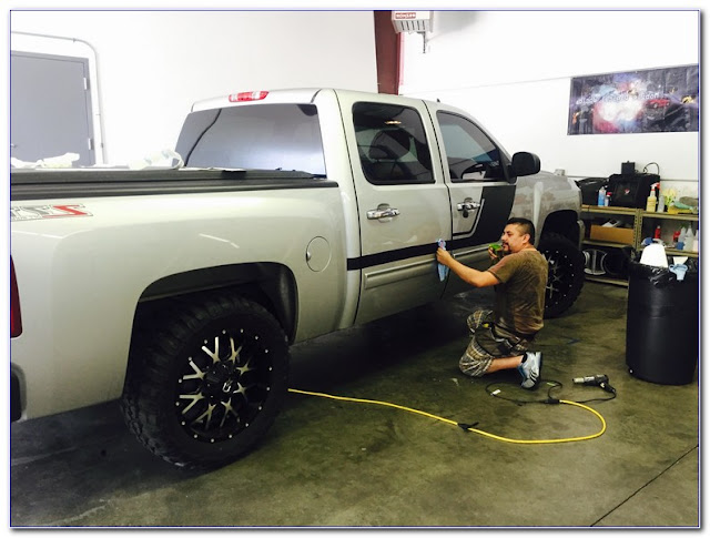 How Much Does It Cost To TINT WINDOWS On A Truck