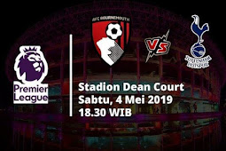 Live Streaming Liga Inggris Bournemouth vs Totthenham Hotspur 4 Mei 2019