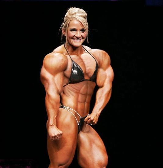 Female Muscle Body 17