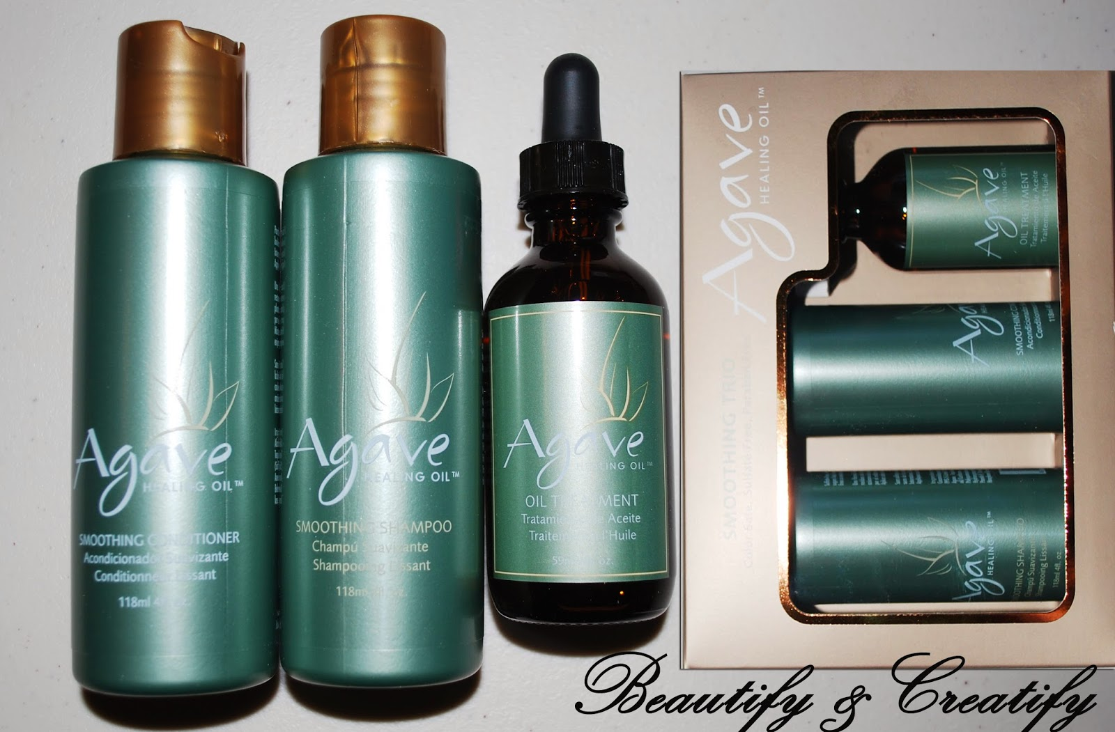 Healing Treatment Frizzy Hair Remedy Agave Oil Healing Treatment Review