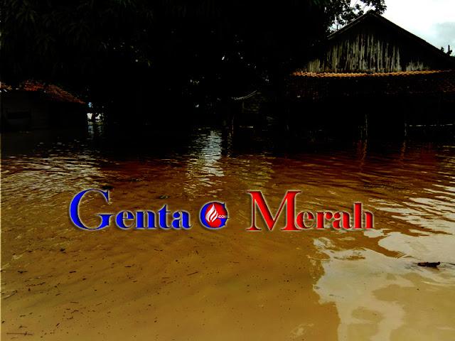 Tim Tagana Lamteng Pastikan Tidak Ada Warga Terjebak Banjir
