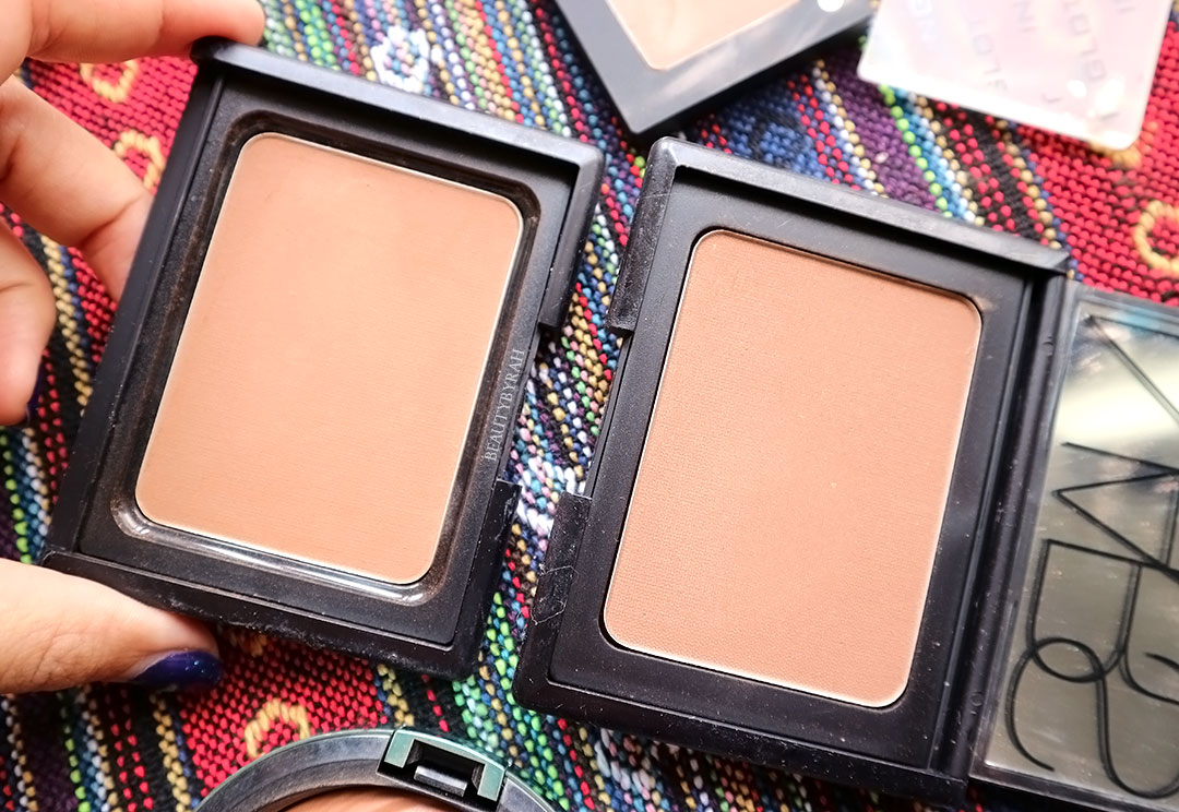 Nars Pressed powder in heat and Casino bronzer review