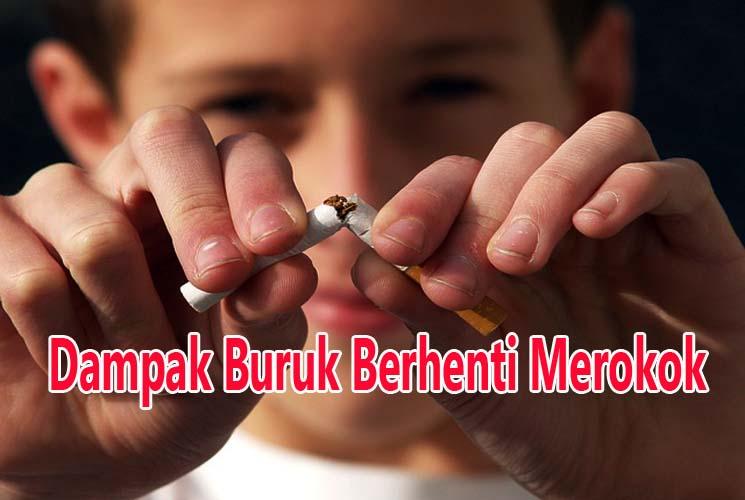 Ternyata Berhenti Merokok Juga Memiliki Dampak Buruk Bagi Tubuh