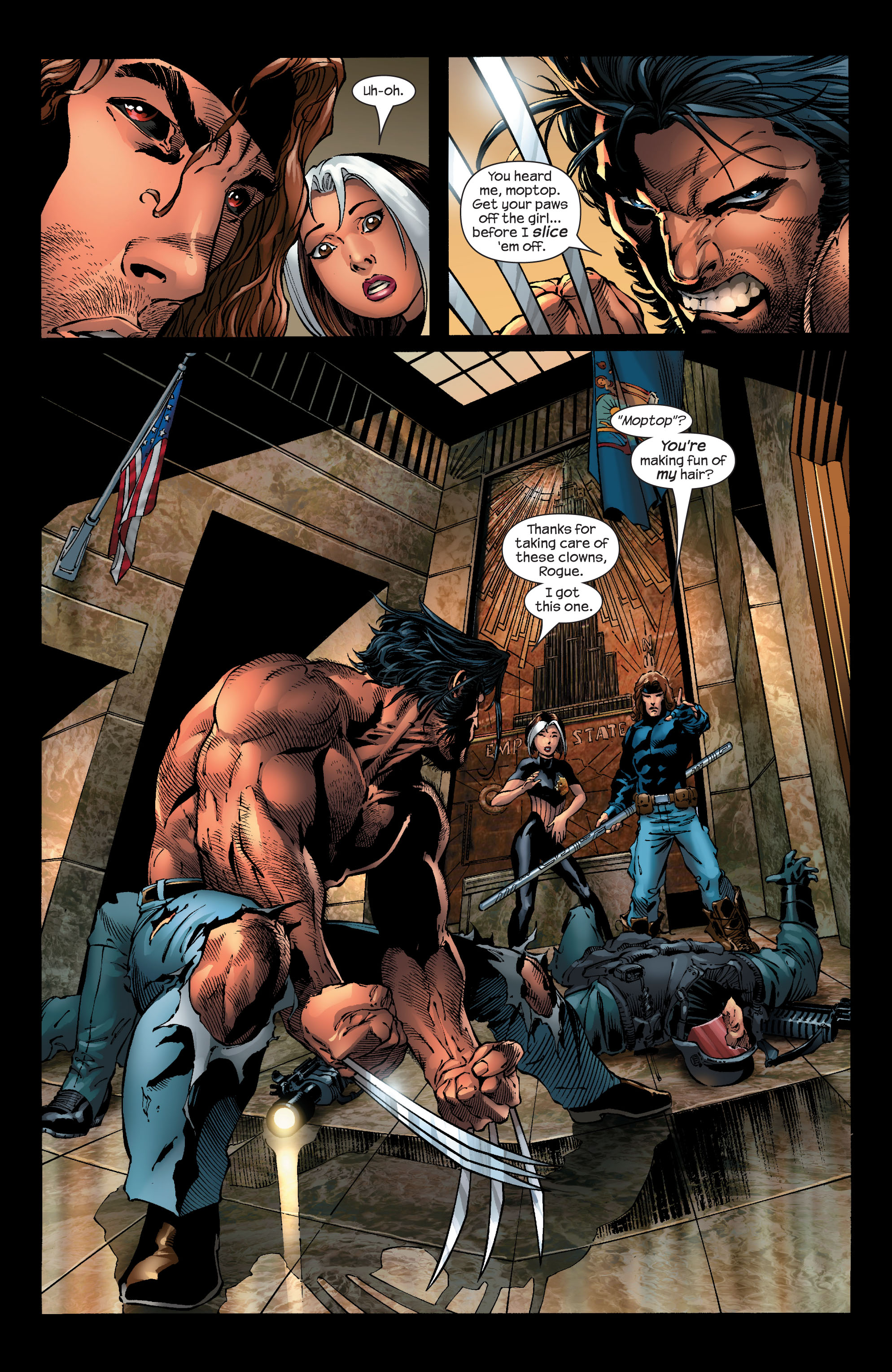 Read online Ultimate X-Men comic -  Issue #53 - 5