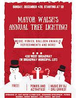 Mayor Walsh Tree Lighting