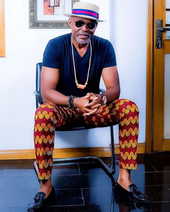 RMD Male Celebrity native African ankara prints