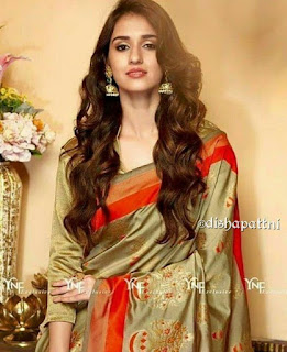 disha patani in saree