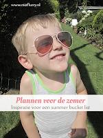 Plannen voor de zomer - inspiratie voor een summer bucket list