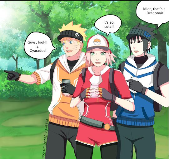 Sasuke Fits So Well In The Mystic Stereotype