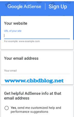 cara mendaftar google adsense lewat hp android