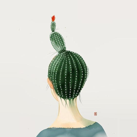 Capelli, Cheratina e Cactus