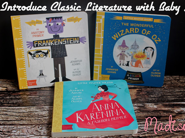 Introduce Classic Literature with BabyLit Books