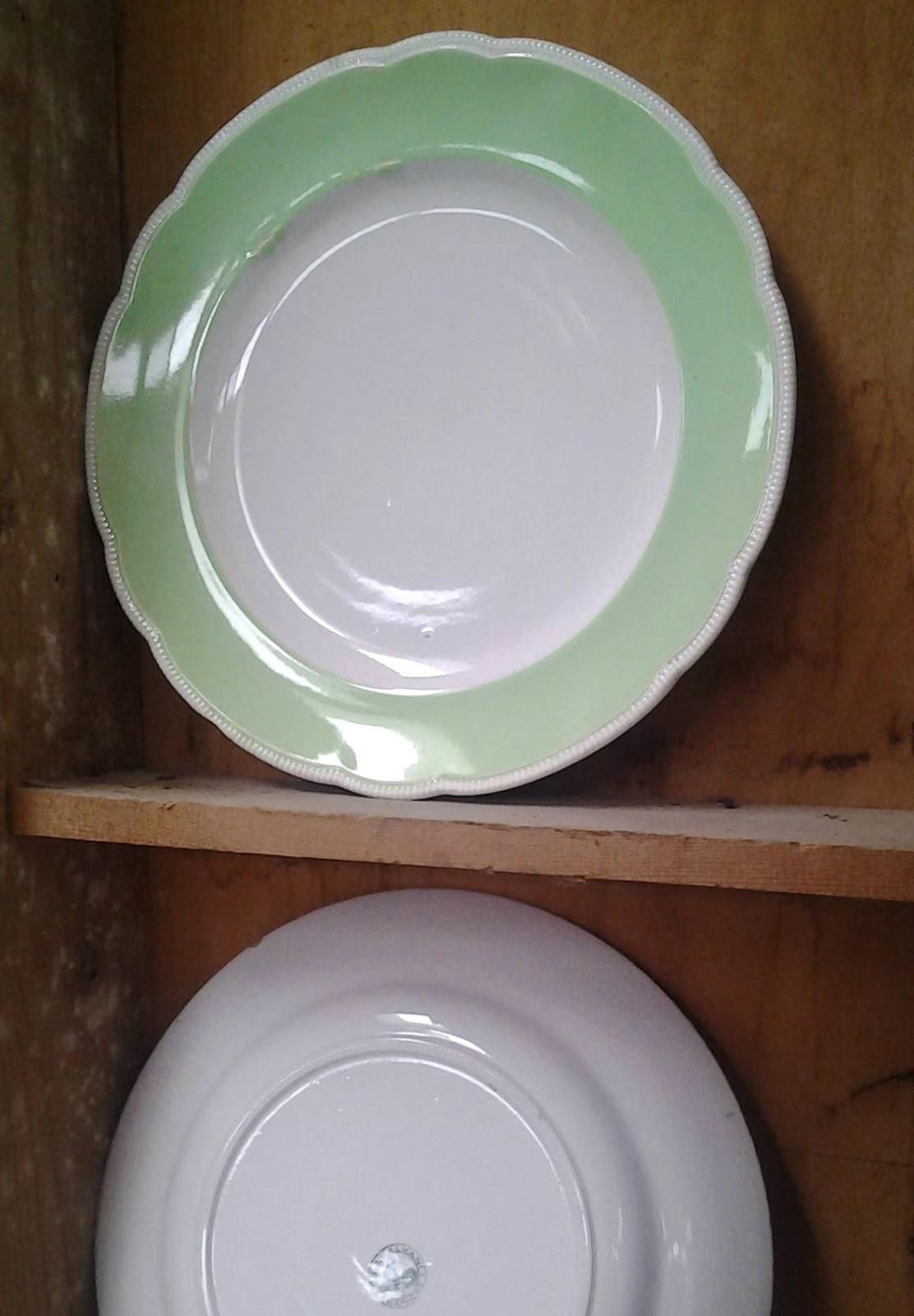 Trovarobando piatti piattini retr per decorare gli - Piatti da portata particolari ...