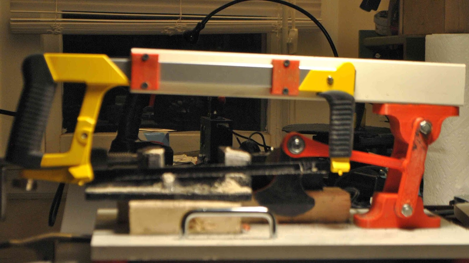DIY 3D Printing: DIY Power Hacksaw made with 3D Printed Parts