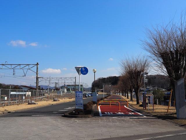 つくばりんりんロード 岩瀬駅