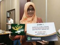 Septy Andari Putri, M. Pd Juara III Guru Madrasah Berprestasi Tingkat Nasional