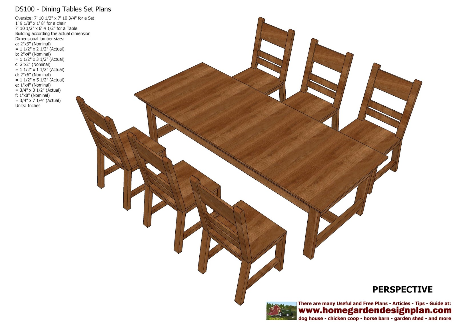 Home garden plans ds100 dining table set plans - Woodworking plans bedroom furniture ...
