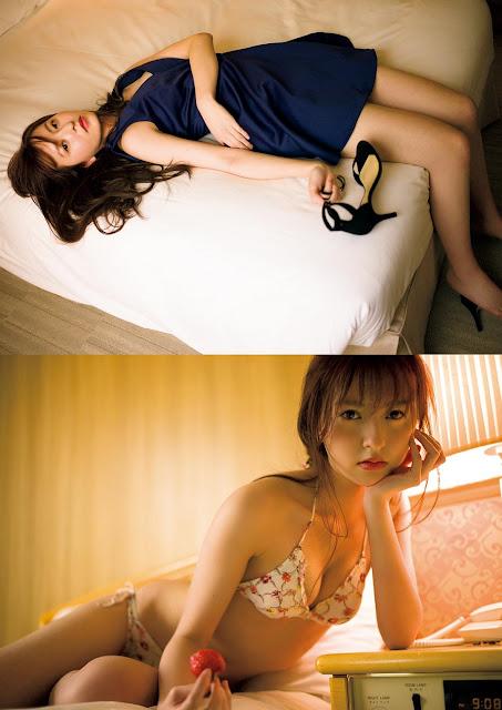 Moriyasu Madoka 森保まどか overnight stay images