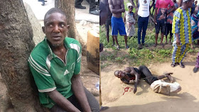 Ritualist chop off woman's body parts in Lagos