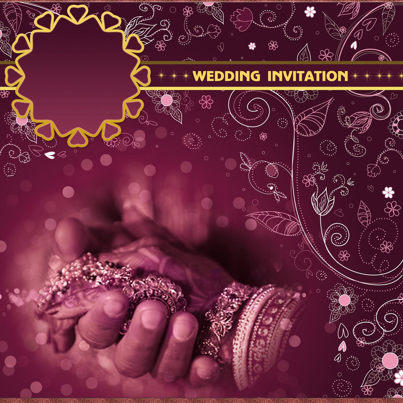 Hindu Indian Wedding Invitation Templates
