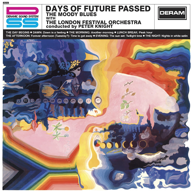 The Moody Blues' 'Days Of Future Passed' album - cover