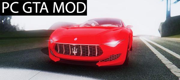 Free DownloadMaserati Alfieri Concept Mod for GTA San Andreas