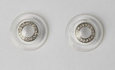 Real Diamond Embedded Contact Lens