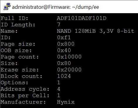 NoBytes com: Adventures into NAND Dumping Part 2