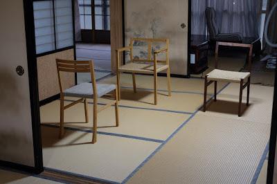 愛知県瀬戸市の家具工房 MOST furniture 配置のバランス確認