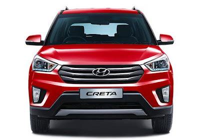 Hyundai Creta 1st Anniversary Edition front look Hd Images
