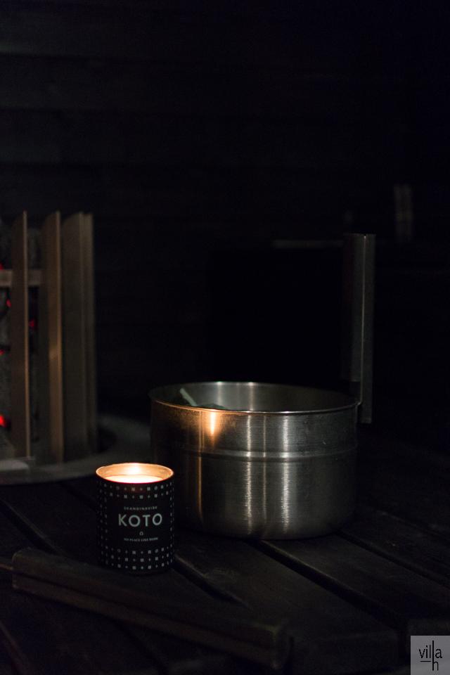 musta sauna, sauna, eukalyptus