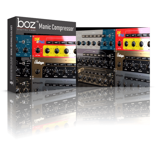 Boz Digital Labs - Manic Compressor v1.1.2 Full version