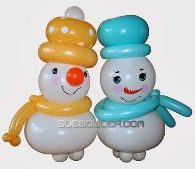 Snowmen by Sue Bowler
