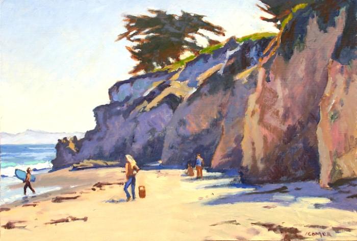 Пейзажи Калифорнии. John Comer 17